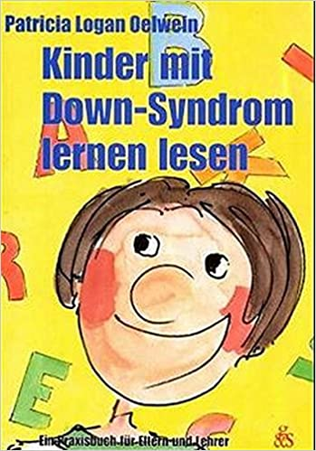 Book Kinder mit Down-Syndrom lernen lesen.