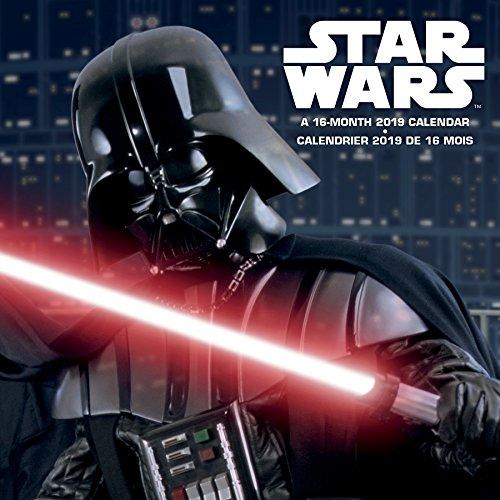 2019 Star Wars (Bilingual FRE) Wall Calendar (English and French Edition)