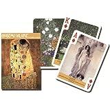 Piatnik Gustav Klimt Artist Single Deck Austrian Playing Cards 1615 Paintings
