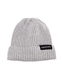 Women Men Keep Warm Casual Knitted Hat Ski Hat Solid Sport Hat