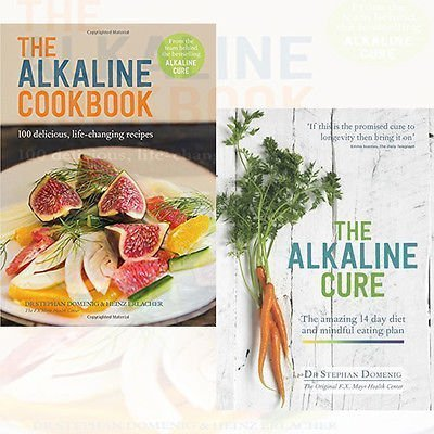 The Alkaline Cookbook and The Alkaline Cure 2 Books Bundle Collection - 100 Delicious, Life-Changing Recipes,The 14 Day Diet and Anti-ageing Plan