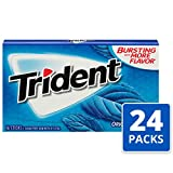 Trident Original Flavor Sugar Free Gum, 24 Packs of 14 Pieces