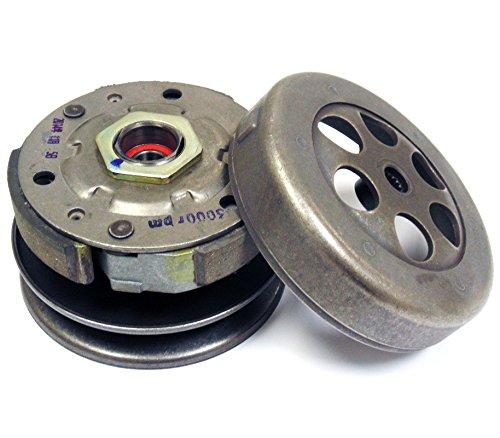 - Complete Clutch Assembly 50cc 90cc 2-Stroke 1PE40QMB 1E50QMF Minarelli Jog Engines