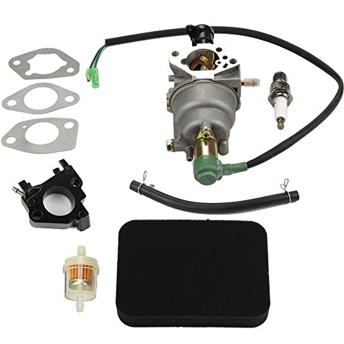 HIPA Carburetor + Air Filter Tune Up Kit for Honda EB5000X EM5000S EM5000SX EM5000X EW171 Generator