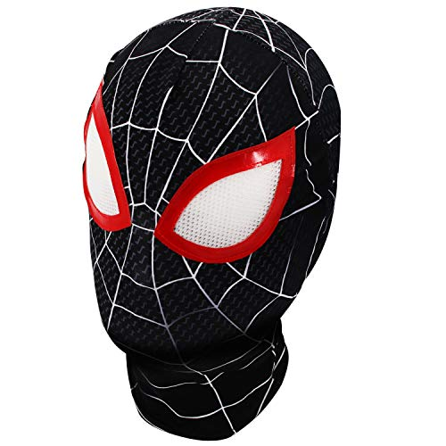 Superhero Premium Spiderman Hero mask, Superhero Costume Role-Playing Props Elastic Lycra Fabric Material. ()