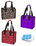 Nicole Miller Lunch Box - Portable Lunch Tote Surprise 2-Pack Bundle