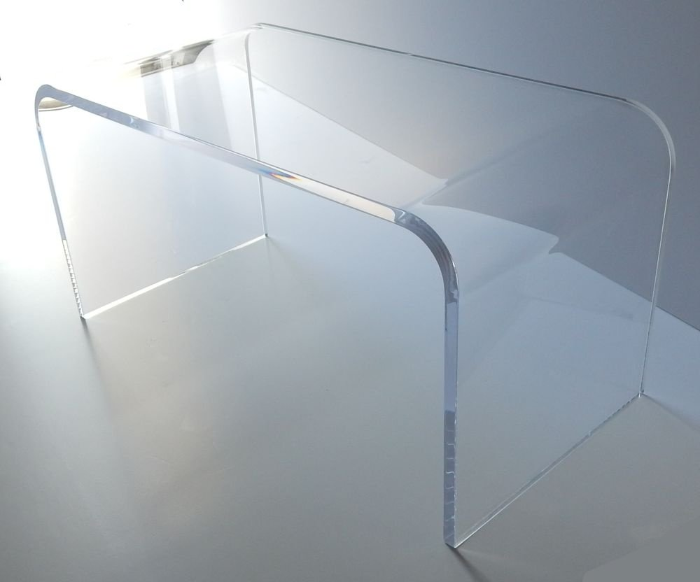 Amazon.com: Acrylic Coffee Table 32 X 16 X 16 X 3/4 Premium Domestic  Material: Kitchen U0026 Dining