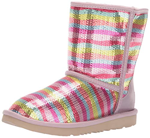 UGG Girls' K Classic Short II Mural Fashion Boot, Rainbow, for sale  Delivered anywhere in USA