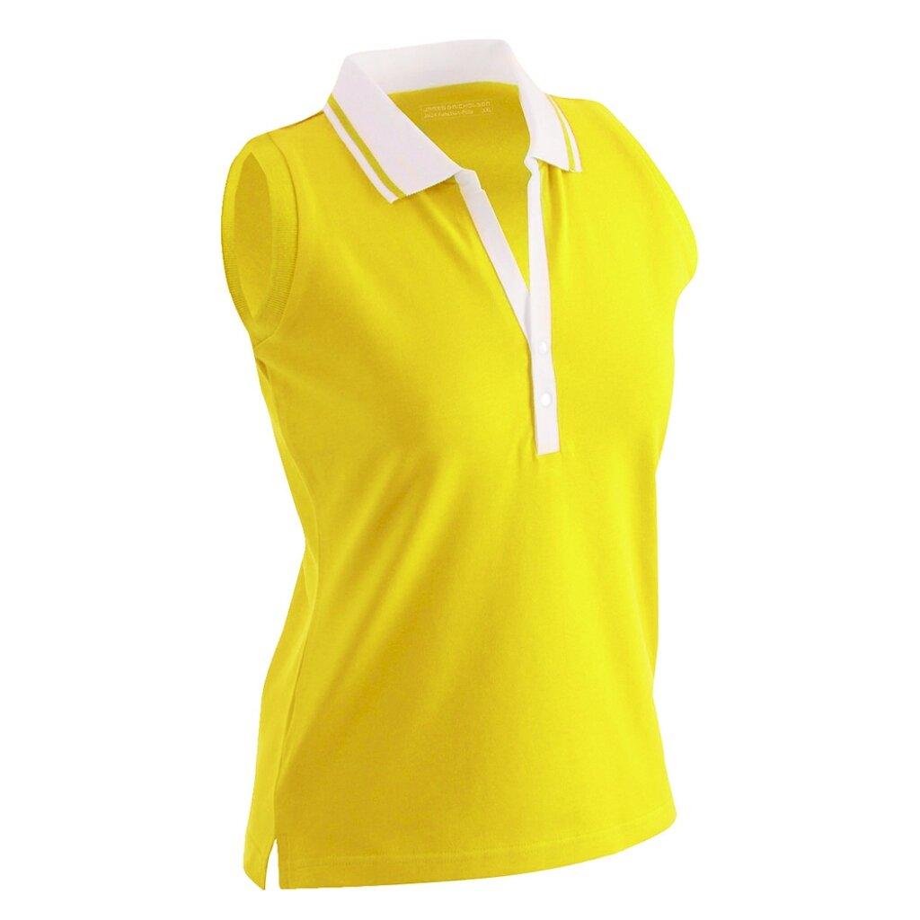 5893bd5f355b0d James   Nicholson JN159 Ladies Stretch Sleeveless Polo Shirt  Amazon.co.uk   Clothing