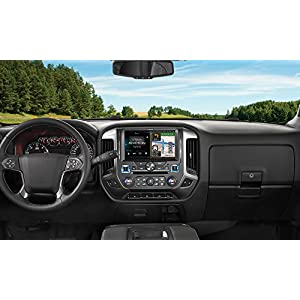 Alpine Electronics X110-SLV In-Dash Restyle System for Chevrolet Silverado 2014-Up, 10""