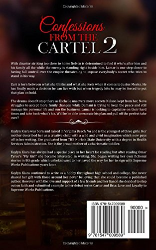 Confessions From The Cartel 2: Kaylyn Kiara: 9781547009589 ...