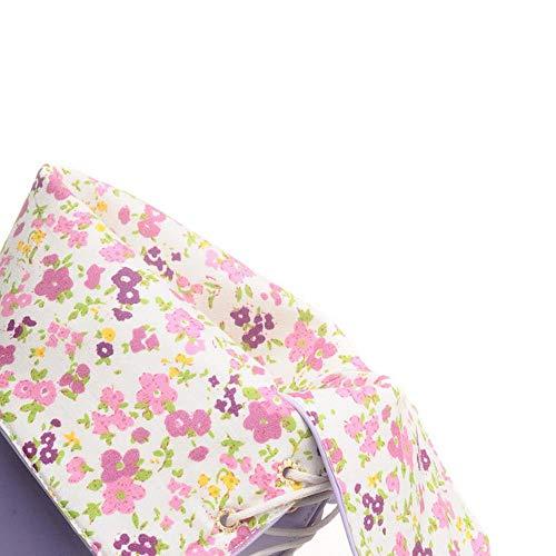 Violet Bottes Mode Haute Femmes Le Genou Lacets Coolcept A7Cw1gxq7