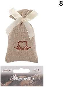 Gouen 1PC Bolsa de Tela de algodón Especias Naturales Bolsita fragante Desodorante Ambientador Incienso Decoración para el hogar Deshumidificación aromaterapia, sándalo: Amazon.es: Hogar