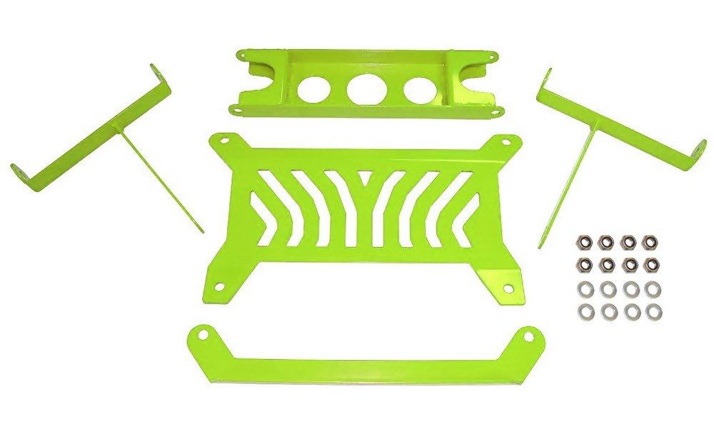 Dragonfire Racing Manta Green Front Gusset Kit Can-Am Maverick / Turbo