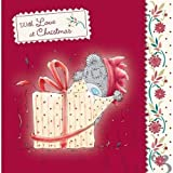 Tatty Teddy Opening Gift Me to You Bear Christmas Card