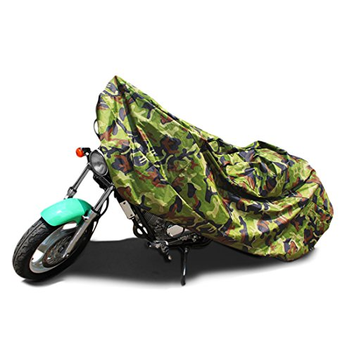 Dust Motorcycle Cover Camouflage Outdoor Waterproof 104