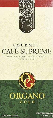 1 Box of Organo Gold Ganoderma Gourmet - CafŽ Supreme(20 sachets)