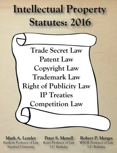 Intellectual Property Statues:2016