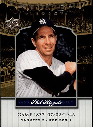 1837 Collection (2008 Upper Deck Yankee Stadium Legacy Collection #1837 Phil Rizzuto - NM-MT)