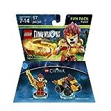 Chima Laval Fun Pack - Lego Dimensions (71222) & Chima Eris Fun Pack - LEGO Dimensions (71232) bundle of 2.