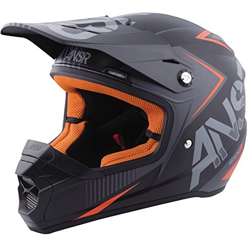 Answer SNX 2 Multi Color Youth Helmet Charcoal Black/Silver Md 459983