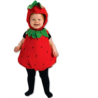 fbf66203fc67 Amazon.com  Rubie s Deluxe Baby Berry Cute Costume  Clothing