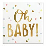 Slant Cocktail Napkins 20 Count - Oh BABY!