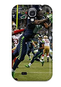 Awesome Seattleeahawks Flip Case With Fashion Design For Galaxy S4
