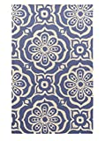 Surya Kate Spain Alhambra ALH-5004 Hand Tufted 100-Percent New Zealand Wool Floral and Paisley Accent Rug, 3-Feet 3-Inch by 5-Feet 3-Inch