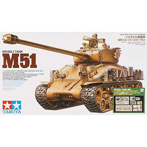 (Tamiya America, Inc 1 35 Israeli Tank M51 w Photo Etched Parts, TAM25180)