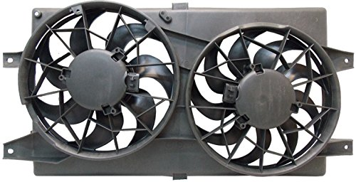 Sunbelt Radiator And Condenser Fan For Chrysler Sebring Dodge Stratus CH3115122 Drop in Fitment