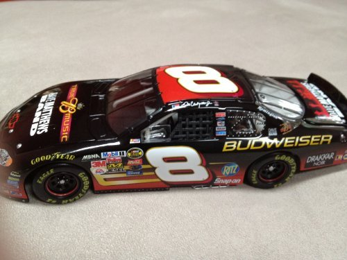 Nascar - Dale Earnhardt Jr #8 - Budweiser / Dave Matthews Band - 2004 Monte Carlo - 1:24 Scale Stock Car - Limited Edition 1 of 25,704 - 24 Scale Stock Car