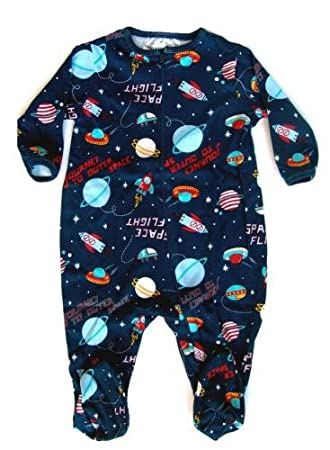 f77d3c5a4782 Amazon.com  Skivvydoodles Space Flight Footie Footed Pajamas for ...