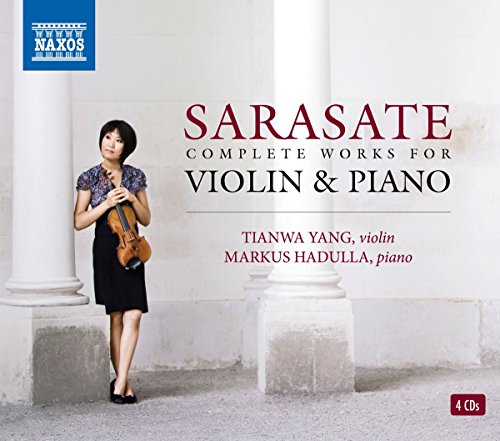Sarasate: Complete Works for Violin & (Piano Works Box)