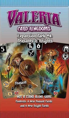 Valeria Card Kingdoms Expansion Pack #4: Peasants & Knights