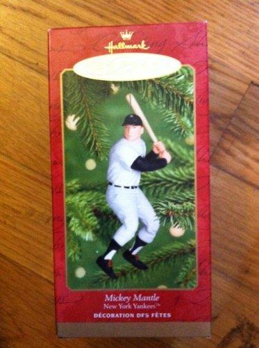 Mickey Mantle 2001 Hallmark Keepsake Ornament