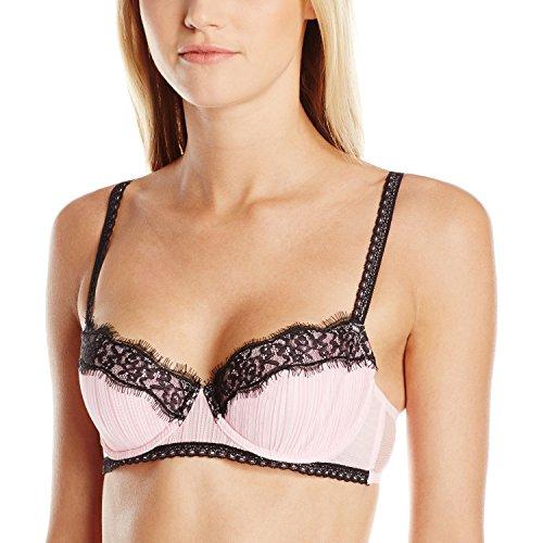 Jezebel Women's Emma Contour Bra, Pink Flirt, 38D