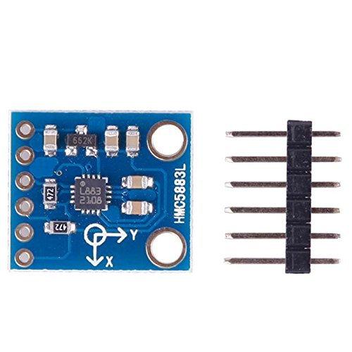 HMC5883L 3 Axis Electronic Compass Magnetometer Sensor Module 3V-5V For Arduino
