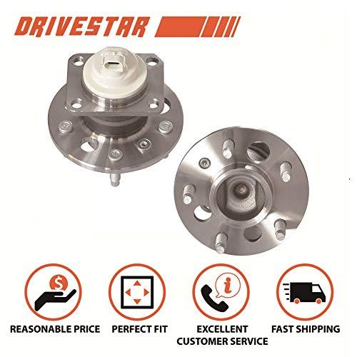 2001 Chevrolet Trailblazer Wheel - DRIVESTAR 512150X2 (Pair) Premium Rear Wheel Hub & Bearing Assembly for Buick Chevy w/ABS