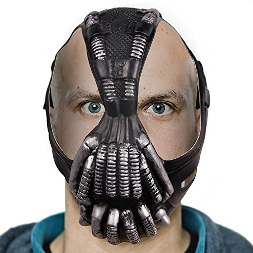 Waylike Halloween Batman Dark Knight Bane Mask Novelty Latex Cosplay Head Mask -