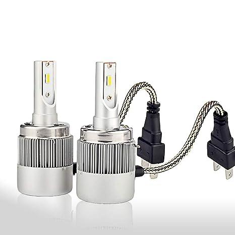 lote de 2 bombillas h7 kit de luces led 72W 7600lm de gama alta canbus anti