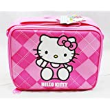 Hello Kitty Lunch Box Bag - Pink Checker