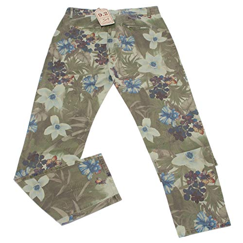 Vintage Pantalone Verde 5109X Green CARLO 2 9 Trouser Man uomo CHIONNA Cotton w07HB7qA