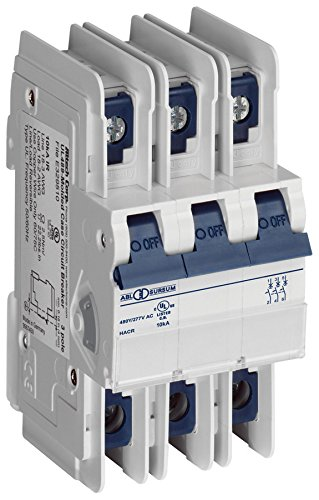 Altech 3C60ul Ul Series 3 Pole 60 A C Trip Thermal Magnetic Miniature Circuit Breaker   1 Item S