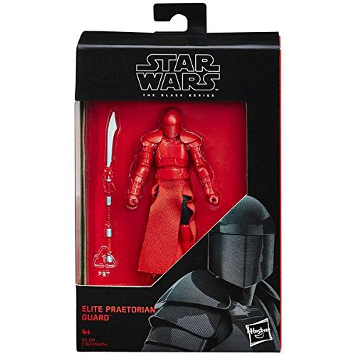 Star Wars 2017 The Black Series Elite Praetorian Guard (The Last Jedi) Action Figure 3.75 Inches
