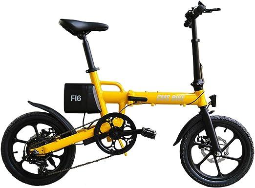 Umbeauty E Plegable Bicicleta Eléctrica 16 Bicicletas para ...