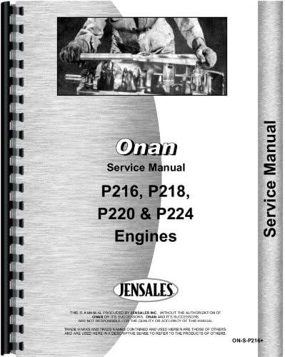 [SCHEMATICS_4US]  Amazon.com: Onan P220 Engine Service Manual: Home Improvement | Wiring Diagram Onan P220 |  | Amazon.com