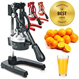 Zulay Professional Citrus Juicer - Manual Citrus Press and Orange Squeezer - Metal...