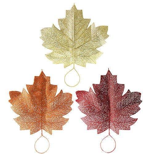 Glitter Leaves, 3 Pack (Glitter Leaves)