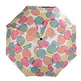 MintFroest UV Sun Umbrella Compact Folding Travel Umbrella